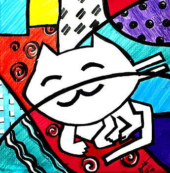 Romero's Cat by Pedro Bautista Mendez