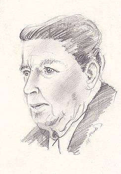 Ronald Reagan by John Keaton
