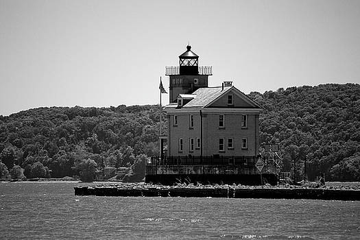 Rondout Lighthouse in Spring #1 by Jeff Severson