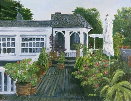 Roof Top Garden by Paintings by Parish
