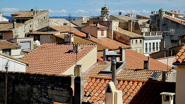 Roofs of Arles by August Timmermans