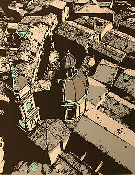 Roofs of Bologna by Biagio Civale