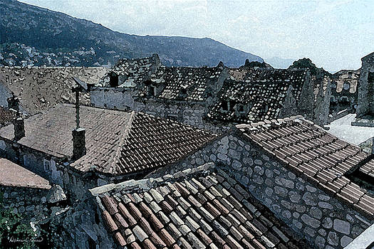 Donna Corless - Roofs of Dubrovnik