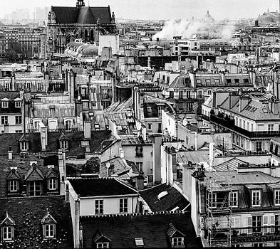 Cyril Jayant - Roofs of Paris.