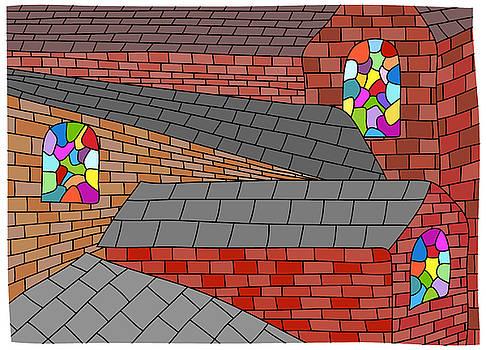 Roofs, walls and windows by Nicholas Brockbank
