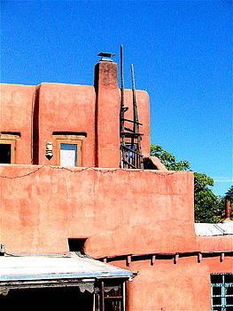 Rooftop Santa Fe by K Hoover