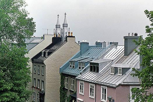 Rooftops by John Schneider