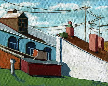Rooftops by Linda Apple