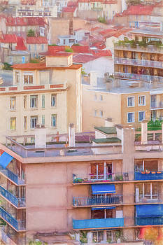 Rooftops Marseille by Elly De vries