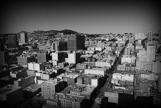 Danielle Groenen - Rooftops of San Francisco