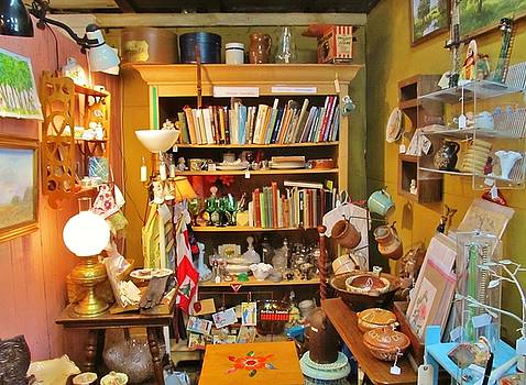 Room Of Antiques by Donna Wilson