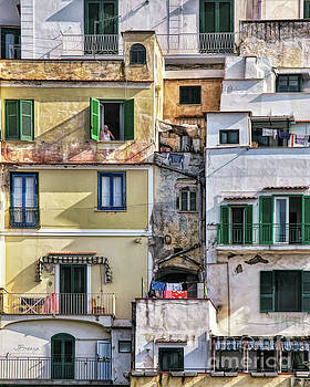 Rooms With A View.Amalfi by Jennie Breeze