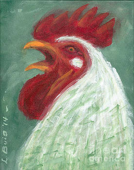 Rooster #1 by Lela  Buis