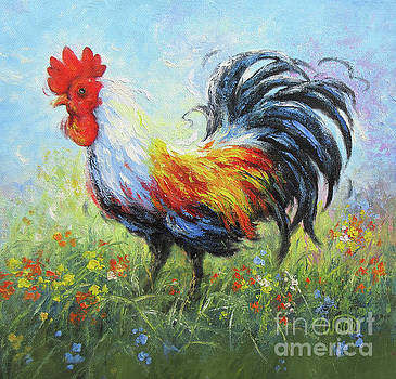 Rooster 34  by Vickie Wade