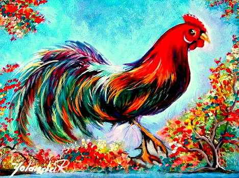 Rooster/Gallito by Yolanda Rodriguez