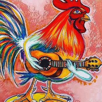 Rooster in Calle8 MIAMI by Arturo Cisneros