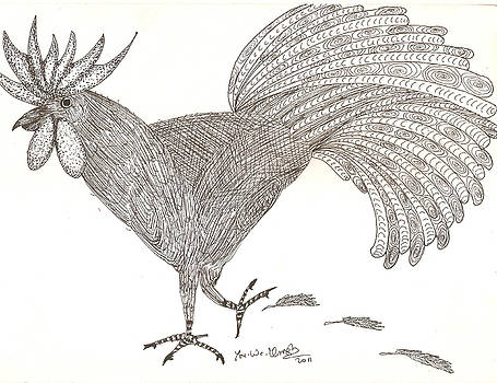 Rooster by Umesh UV