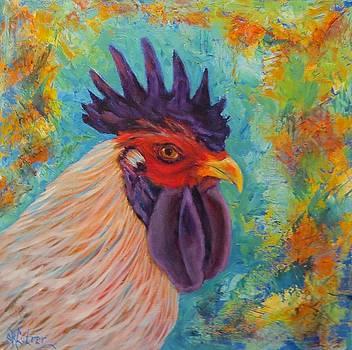 Funky Chicken  by Sandra Cutrer