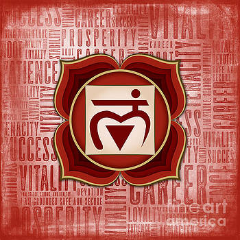 Root Chakra - Awareness by David Weingaertner