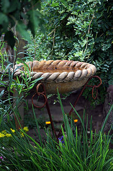 Sandra Foster - Rope Edged Bird Bath