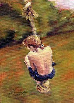 Rope Swing by Todd Baxter