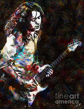 Rory Gallagher Collection - 1 by Sergey Lukashin