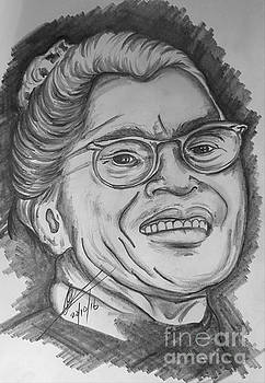 Rosa Louise McCauley Parks by Collin A Clarke