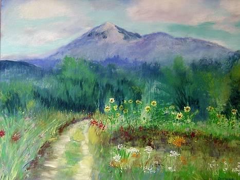 Rosaly's Garden by Linda Dessaint