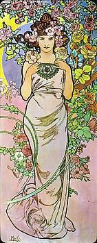 Alphonse Mucha - Rose