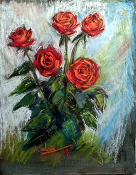 Rose by Arjunan Kalaiselvan