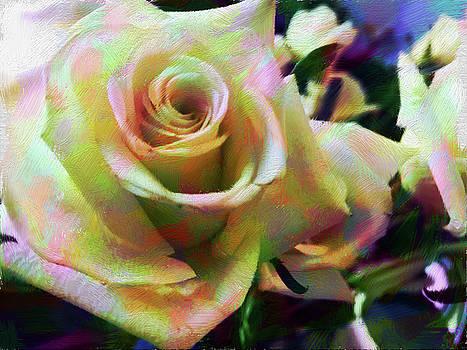 Rose Art 2 by Karen Nicholson