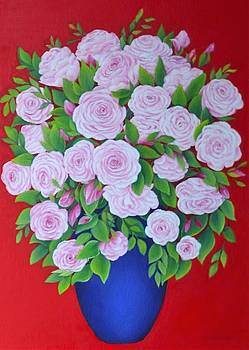 Rose Bouquet by Barbara Anna Cichocka