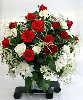 Rose Bouquet Floral Delight by Reni Boisvert