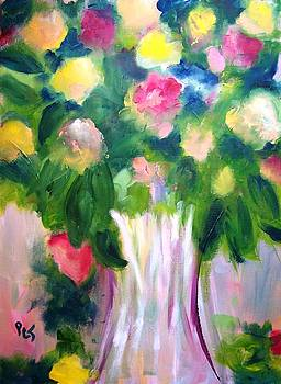 Patricia Taylor - Rose Bouquet in a Vase
