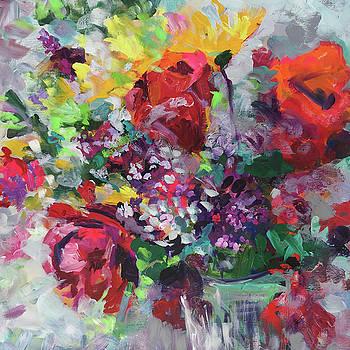 Rose Bouquet by Karen Ahuja