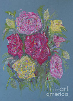 Rose Bouquet by Leanne Byrom