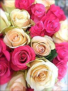 Rose Bouquet  by Wonju Hulse