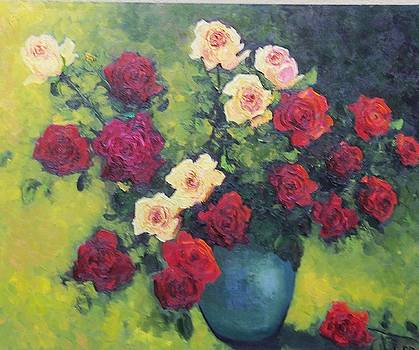 Rose Bowl  by Lore Rossi