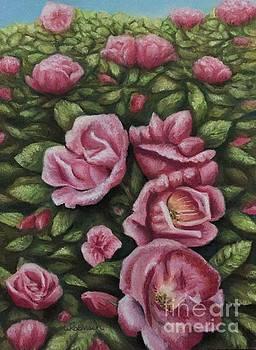 Rose Bush by Wendy Koehrsen