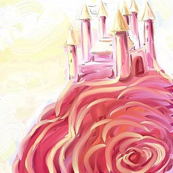 Rose Castle by Hannah Starrett Wright