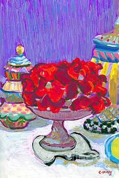 Candace Lovely - Rose Covered Cake