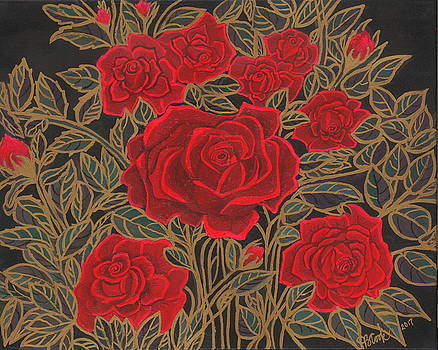 Rose Garden by Bonnie Cook