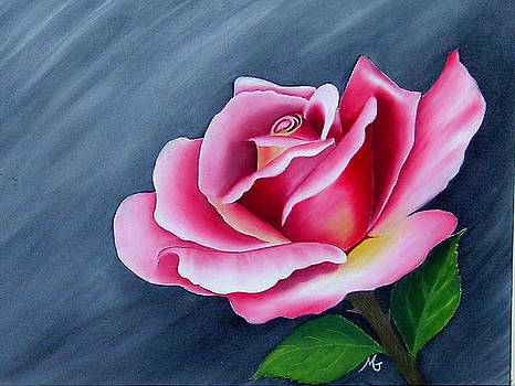 Rose In Elegance by Mary Gaines