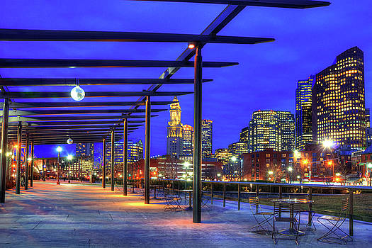 Joann Vitali - Rose Kennedy Greenway - Boston North End