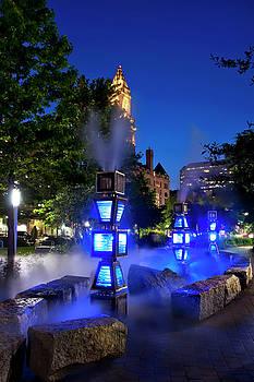 Rose Kennedy Greenway Steam Sculpture Garden by Joann Vitali