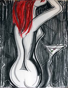 Rose Martini 2 by Cat Jackson