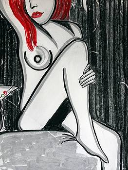 Rose martini by Cat Jackson