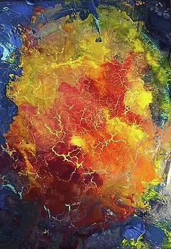 Rose Nebula by Cynthia Silverman