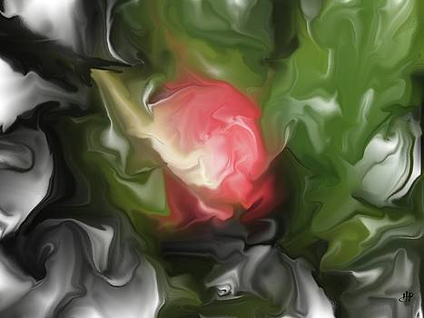 Rose on troubled water by Hai Pham