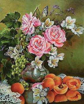 Rose Paintings by Alexei Antonov by William Roberts